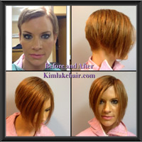 Hair extensions before and after pictures pmusecretfo Image collections
