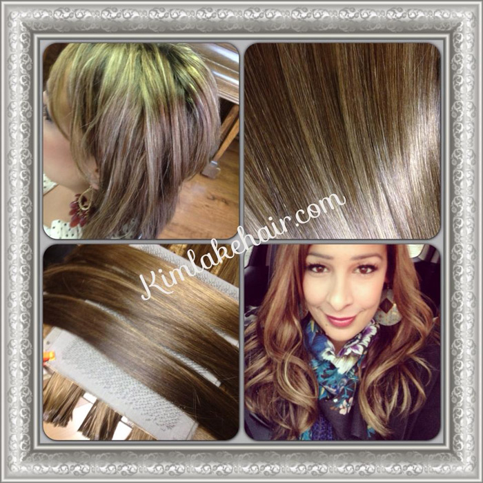 Blended Hair Extensions Hair Extensions Before And