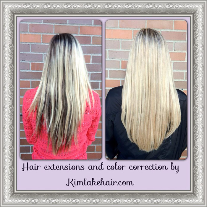 Hair Extensions Before And After Pictures