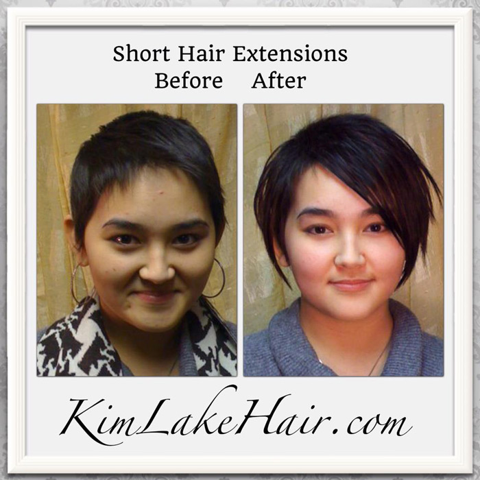 Kim lake hair extension salon custom blends hair extensions short hair extensions pmusecretfo Image collections