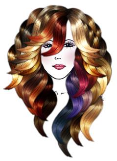 Custom Blends hair Extensions at Kim Lake hair Salon